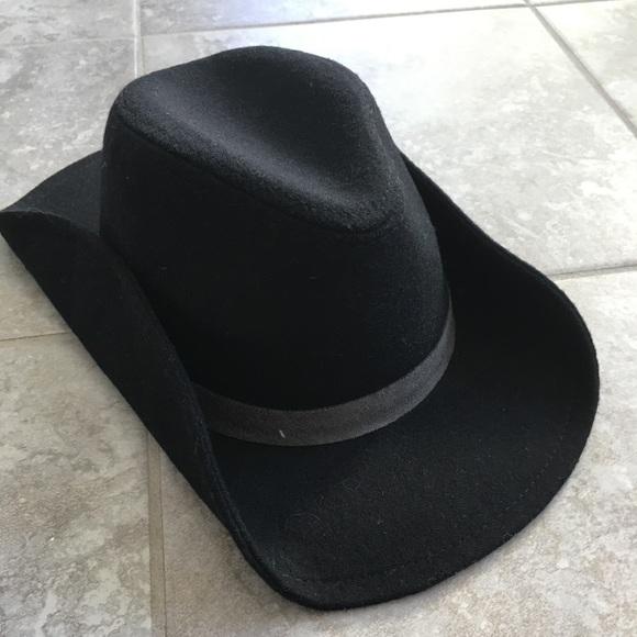 c6476b4eec1 Toddler cowboy hat. Black NWOT
